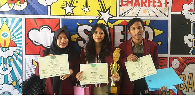 Mahasiswa Telkom University Raih Juara di Annual Saeed National Competition 2017